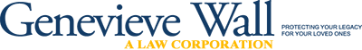Genevieve Wall A Law Corporation Header Logo